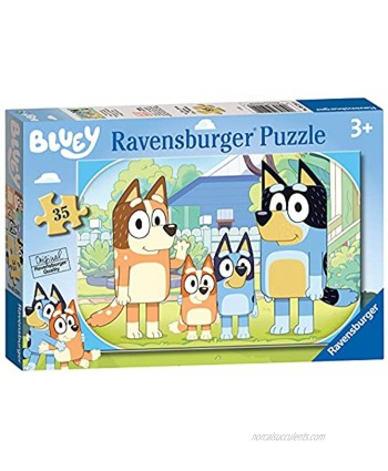 Ravensburger Bluey 35 Piece Jigsaw Puzzle for Kids Age 3 Years Up