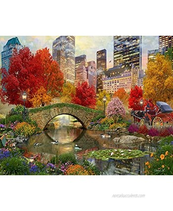 Springbok's 500 Piece Jigsaw Puzzle Central Park Paradise Made in USA