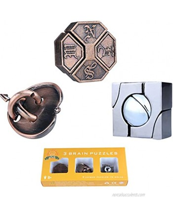Brain Teaser Metal Puzzle 3D Unlock Interlocking Puzzle Adults Educational Toy Puzzle Switch Games