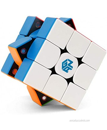 GAN 356 X 3x3 Speed Cube Stickerless Gans 356X 3by3 Magic Cube Magnetic Puzzle Cube 3x3x3 Numerical Ipg IPG V5 Version