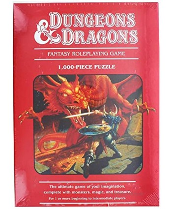 Mondo D&D Fantasy Roleplaying Game 1000-piece Puzzle MNGPZWCDD001