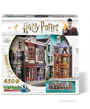 WREBBIT 3D Diagon Alley 3D Jigsaw Puzzle 450 Pieces W3D-1010