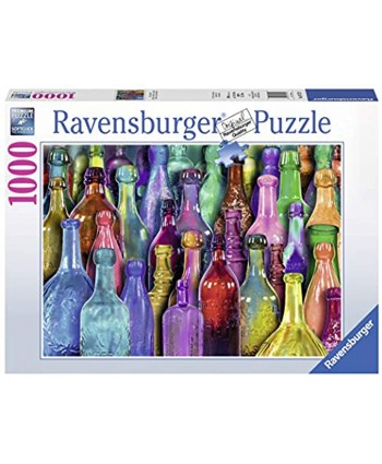 Ravensburger Colorful Bottles Puzzle 1000 Piece Jigsaw Puzzle for Adults – Every Piece is Unique Softclick Technology Means Pieces Fit Together Perfectly