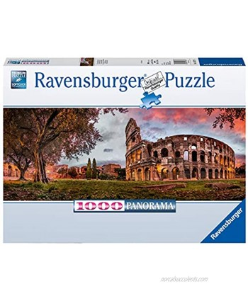 Ravensburger Sunset Coloseum 1000 Piece Jigsaw Puzzle for Adults – Every Piece is Unique Softclick Technology Means Pieces Fit Together Perfectly