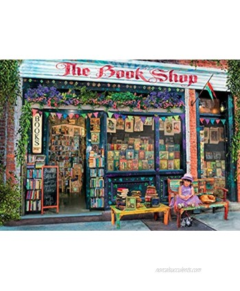 Ravensburger The Bookshop Puzzle 1000 Piece Jigsaw Puzzle for Adults – Every piece is unique Softclick technology Means Pieces Fit Together Perfectly