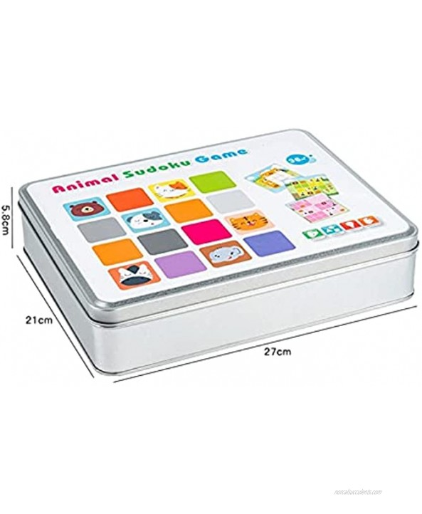 Z-Color Children's Advanced Entry Sudoku Game Children's Logical Thinking Training Puzzle and Concentration Intelligence Toys Sudoku Game