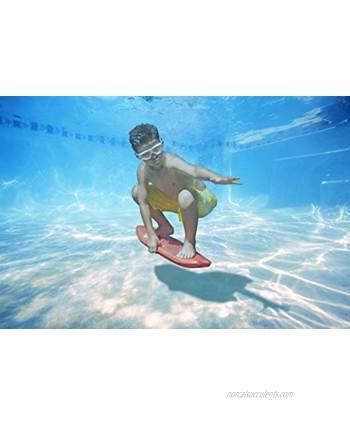 Poolmaster Swimming Pool Underwater Surf Board Red