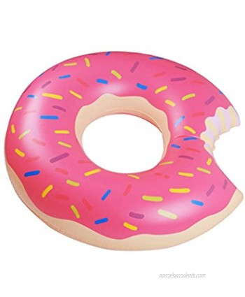 Yaye Donut Pool Float,Doughnut Float Pink for Summer,35.4inch 90cm