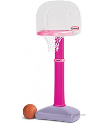 Little Tikes TotSports Easy Score Basketball Set Pink 22.00 L x 23.75 W x 61.00 H Inches