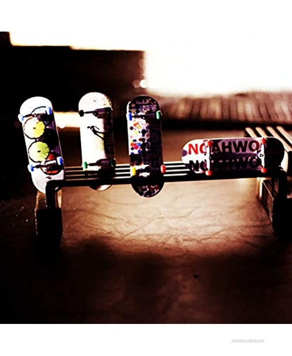 NOAHWOOD Fingerboards PRO WheelsPRO Bearing 4Pcs Set Red Yellow Blue Green 4 Color II