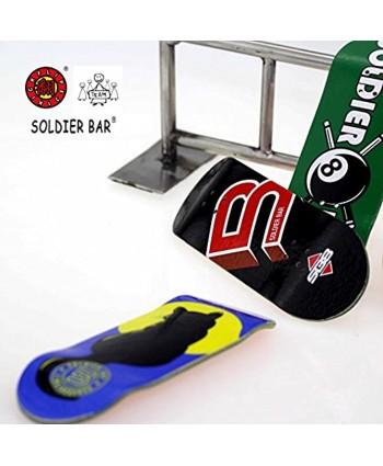 SOLDIER BAR Fan Team Soldierbar 8.0 Maple Wooden Fingerboards Deck,Truck,Wheel Set SB8 Logo