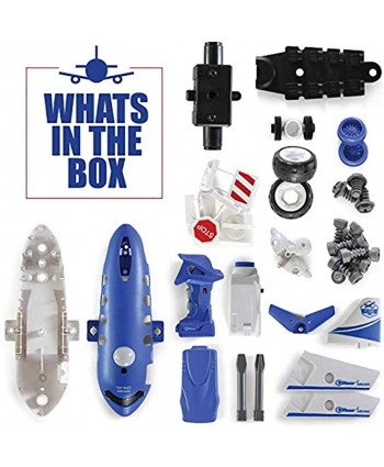 Take Apart Toys with Electric Drill | Converts to Remote Control Airplane | Take Apart Toy Car for Boys | Gift Toys for Boys 3,4,5,6,7 Year Olds | Kids Stem Building Toy Airplane